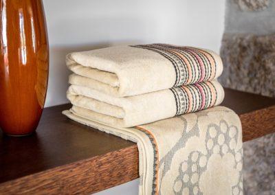'Carlota' towels, beige