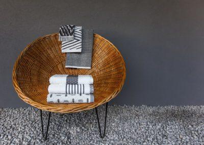 Europa jacquard towels