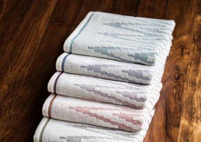 'Mediterranean' Ecru towels