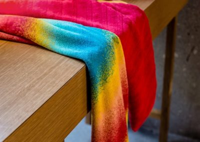 Jaspe multicolour towels