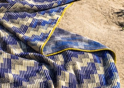 Jacquard towel, detail